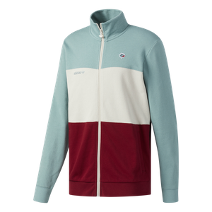 Bilde av Zip Hood - adidas Magenta Jacket Vapour Steel F16 / Clear Brown