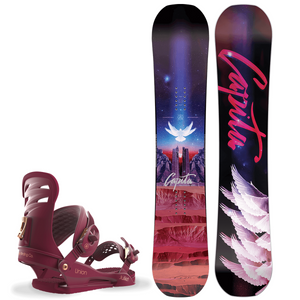 Bilde av Snowboardpakke - Capita Space Metal Fantasy & Union Juliet