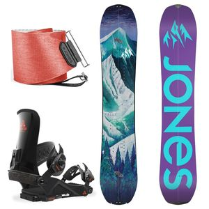 Bilde av Splitboardpakke - Jones Dream Catcher, Union Expedition FC & Jon