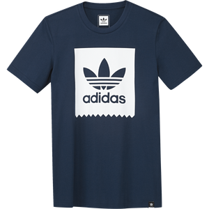 Bilde av T-skjorte - adidas Solid Blackbird Tee / Blue Night