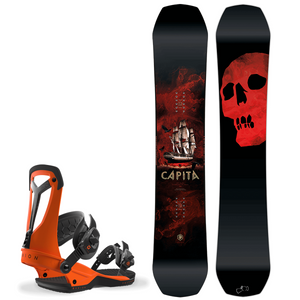 Bilde av Snowboardpakke - Capita The Black Snowboard Of Death & Union Fal