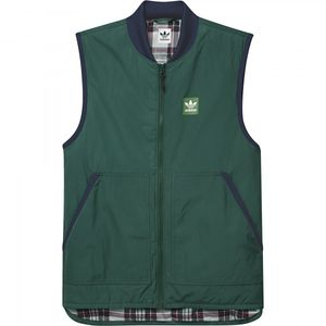 Bilde av Jakke - adidas Meade Vest / Collegiate Green / Night Indigo
