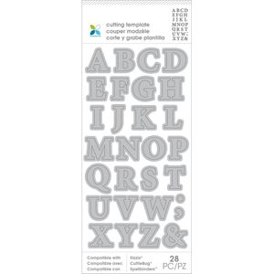 Bilde av First Edition Dies - Alphabet
