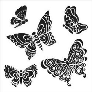 Bilde av The Crafter Workshop - Mini Solid Butterflies