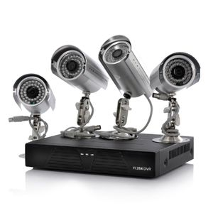 Bilde av 4 Camera + DVR Surveillance Kit - 4 Outdoor IP
