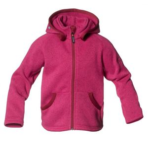 Bilde av Rib Sweater Hood Kid Fuschia