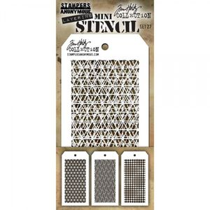 TIM HOLTZ - LAYERED STENCIL - MINI SET #27