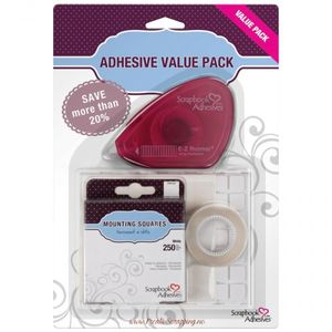 3L - SCRAPBOOK ADHESIVES ESSENTIAL KIT 01697 - VALUE PACK