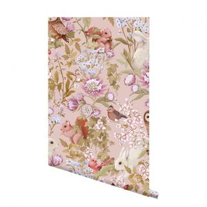Bilde av Woodlands Wallpaper Blush