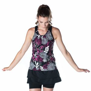 Bilde av Free Flow Tank Enchanted Print/Black