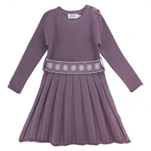 Bilde av 201357 Snowstar dress dusty