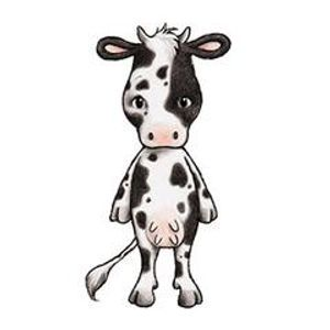 Bilde av Coco The Cow Wallsticker - Stickstay
