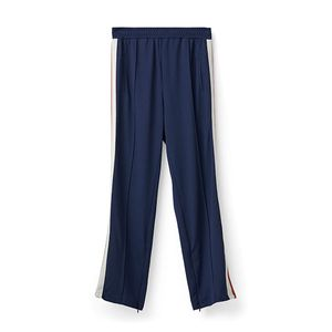 Image of Ganni Dubois Polo Pants Total Eclipse
