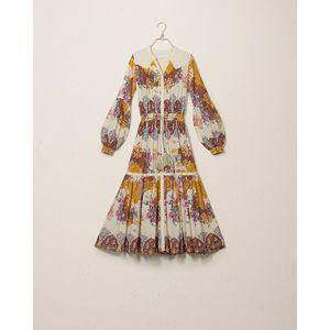 Image of byTimo Bohemian Midi Dress Cowboy