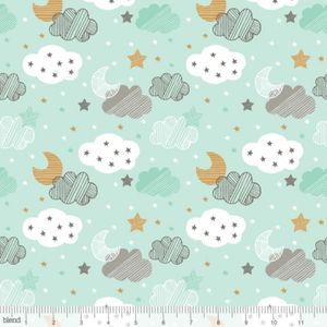Bilde av Blend fabrics - Sweet dreams mint