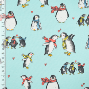 Bilde av Pingu Love Mint - French Terry