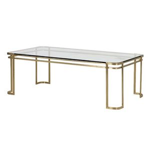 Bilde av BRUSHED CHAMPAGNE COFFEE TABLE