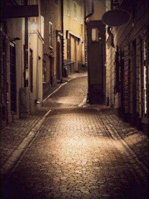 Bilde av STREET AT NIGHT POSTER