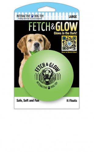 Fetch & Glow Selvlysende ball (large)
