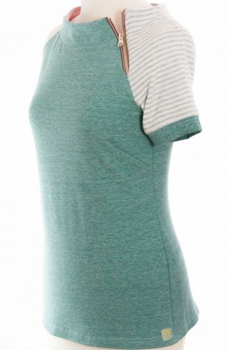 t&t TOP, EDLE SUMMER GREEN