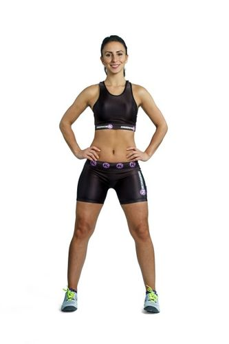 Kimurawear Womens Kompresjonsshorts Body-X Series, str. XL