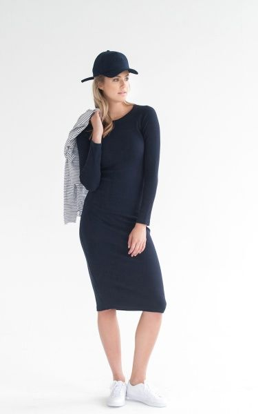 Legoe Premium Pregnancy & After Soho Dress Navy