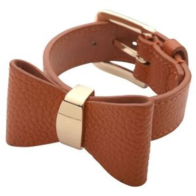 Bow brace leather Orange
