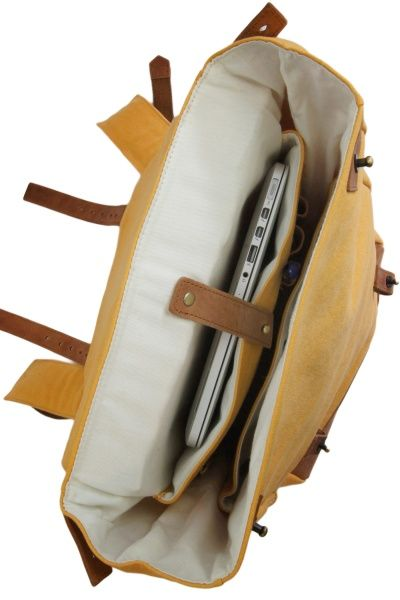 Mau´s Backpack - Mustard & Eco Camel