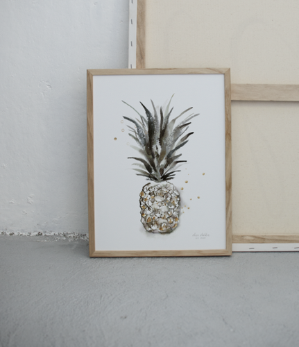 Elise Stalder kunsttrykk 30 x 40 cm tropical diamond