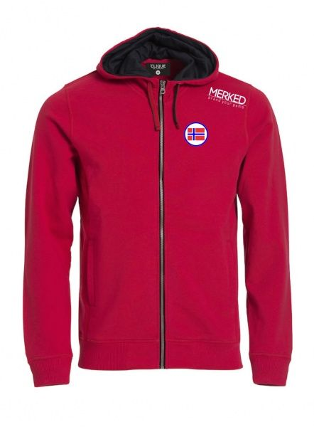 NORWAY Hoody Full Zip Herre