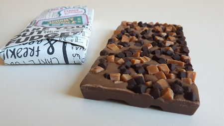 Johnny Doodle Milk fudge & brownie
