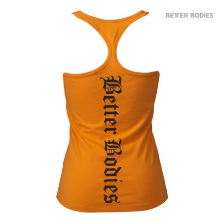 Better Bodies - Printed T-Back - Bright Orange