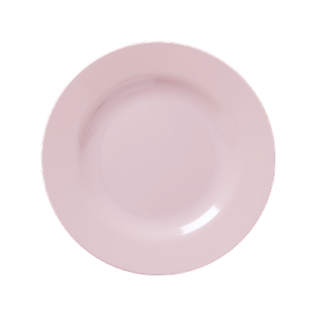 RICE Melamine Side Plate in Soft Pink MESPL-SI