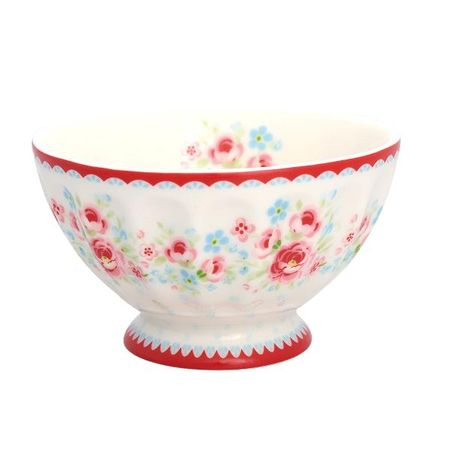 French bowl Tess white M