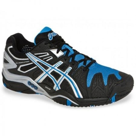 Asics Gel-Resolution 5 Clay (black/white/blue)
