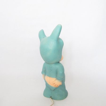 Lapin and me green baby lapin lamp