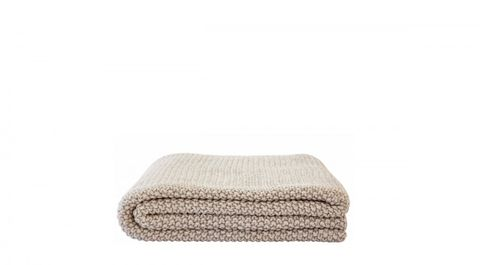 Bilde av Moss stitch knit throw –