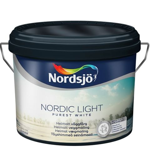 Bilde av NORDSJØ NORDIC LIGHT WHITE 10 L