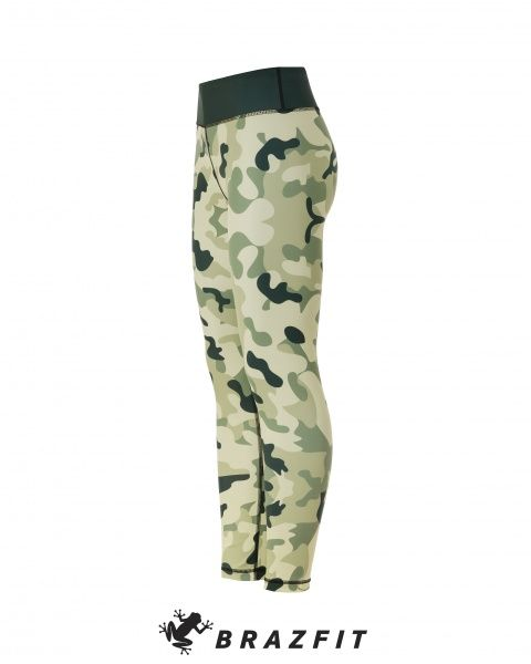 Energy & Power Green Camo Tights