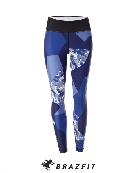 Energy & Power Electric Blue Tights