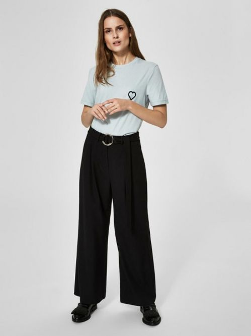Bilde av SELECTED FEMME - Aila cropped pants