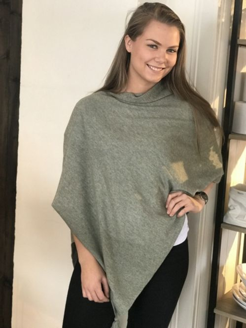 Bilde av Ane Mone Poncho - Light green