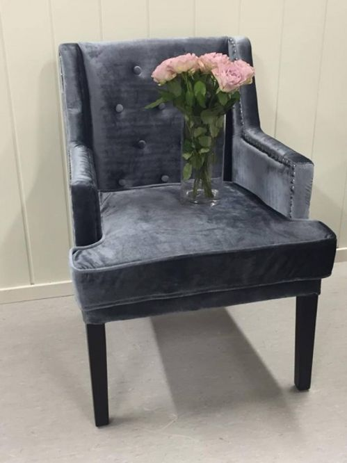 Bilde av Velvet dining chair
