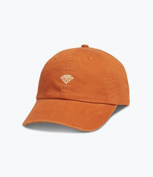 Caps - Diamond Brilliant Sports Hat / Orange
