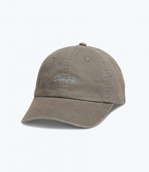Caps - Diamond OG Script Sports Hat / Green