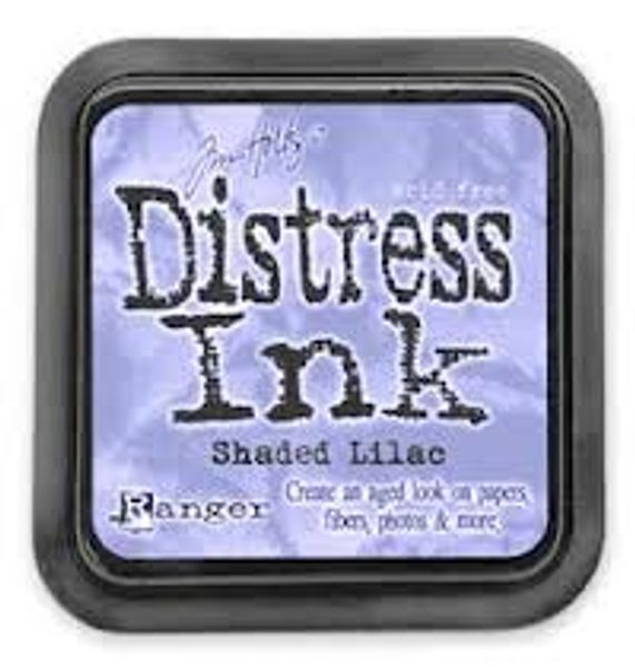 DISTRESS DYE INKS PAD - Shaded Lilac