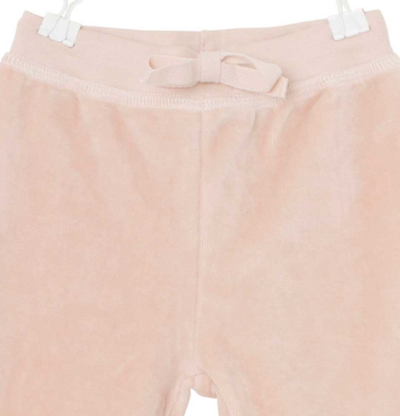 Bukse velour jamil rose dust