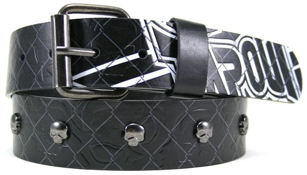 TapouT Metal Skull Belt