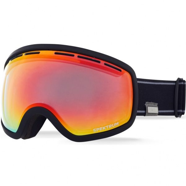 Goggles - Spektrum G001 / Black / Brown Revo Red