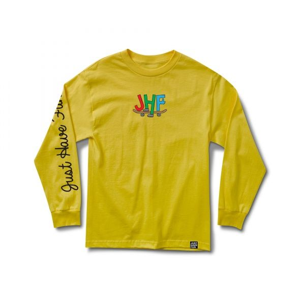 Longsleeve - Just Have Fun Toons / Yellow